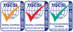 Quality Certified logos